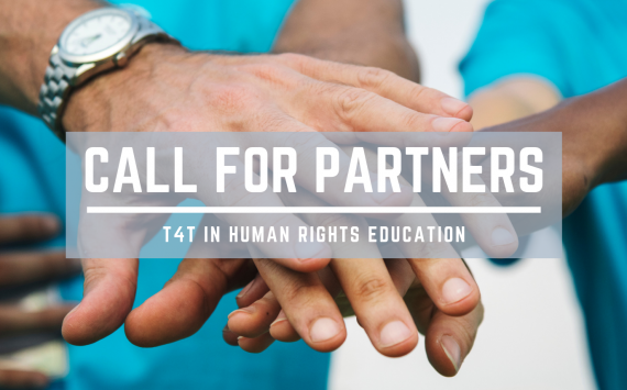 Call for partners: Training of Trainers in Human Rights Education - Training Course | Erasmus+, KA1